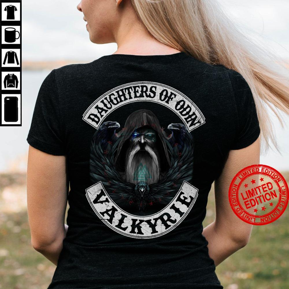 Daughters Of Odin Valkyrie Shirt