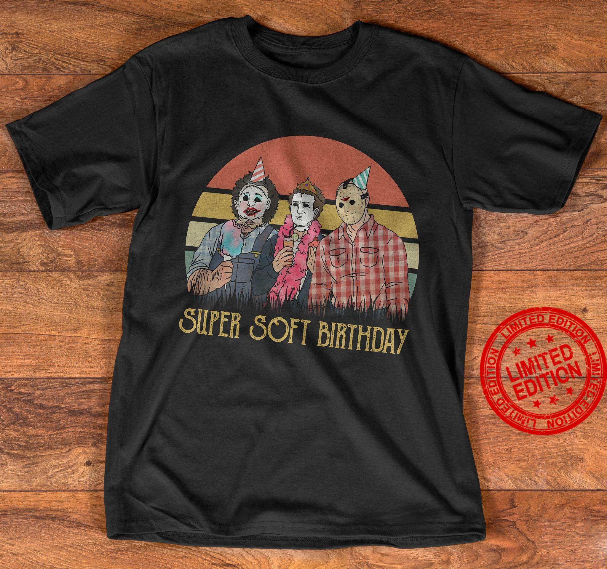 Super Soft Birthday Shirt